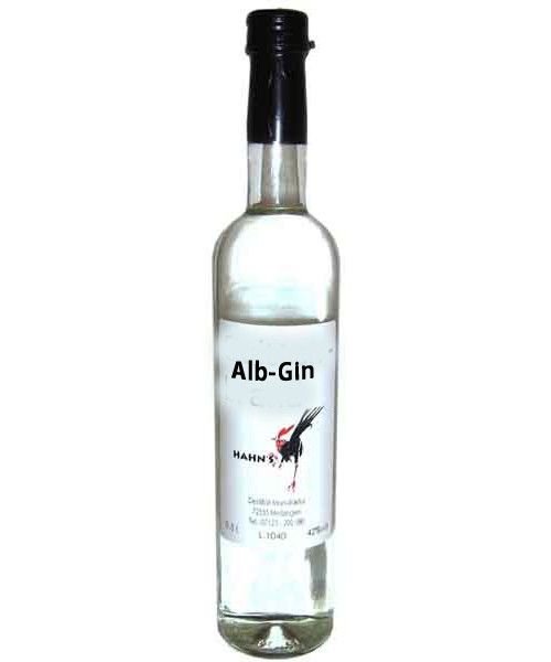Alb - Gin 42%vol 0,5 l (Hahn)