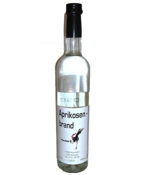 Aprikosenbrand 42%vol 0,5 l (Hahn)