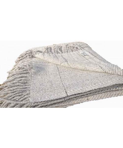 Decke aus der Wolle des Alpinen Steinschafes (Arche-Hof)