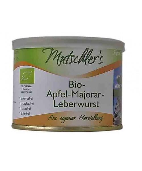 Bio-Apfel-Majoran-Leberwurst (Mutschler)