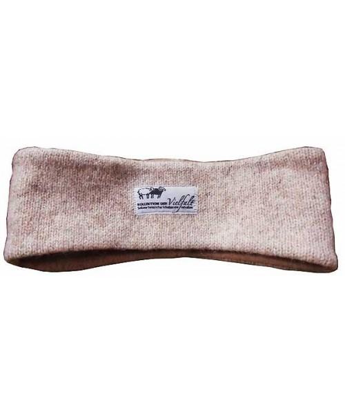 Stirnband aus feinem Walkstrickstoff vom Coburger Fuchsschaf (Arche-Hof)
