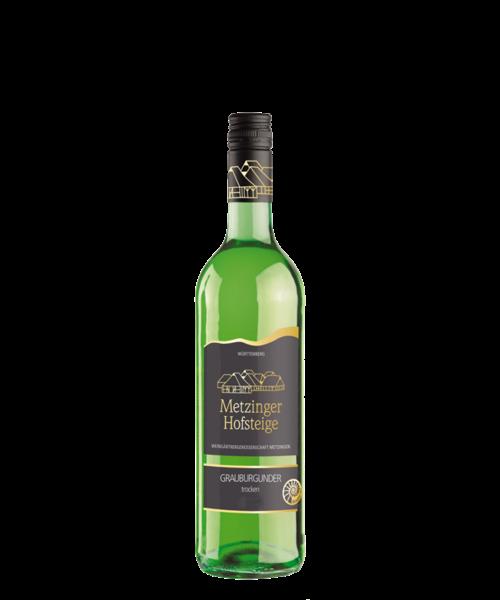 Grauburgunder Brauner Jura trocken 2018 0,75ltr Metzinger Wein