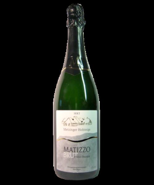 Matizzo-Müller-Thurgau-Sekt brut 2015, 0.75ltr