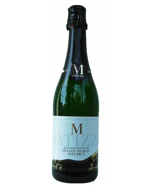 Matizzo-Müller-Thurgau-Sekt brut 0.75ltr Metzinger Wein
