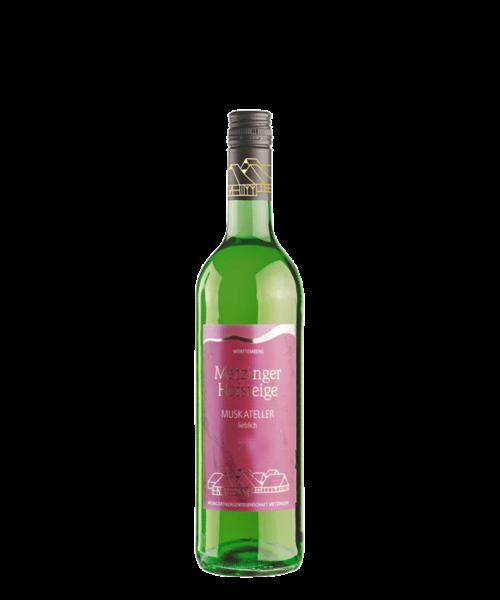 2019 Muskateller fruchtsüss 0.75ltr Metzinger Wein