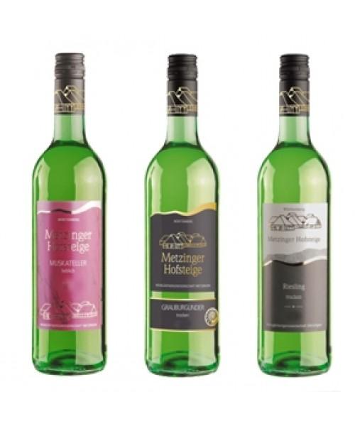 Weisswein-Probierpaket 6 Flaschen für 43,90€ (pro Flasche 7,32€)