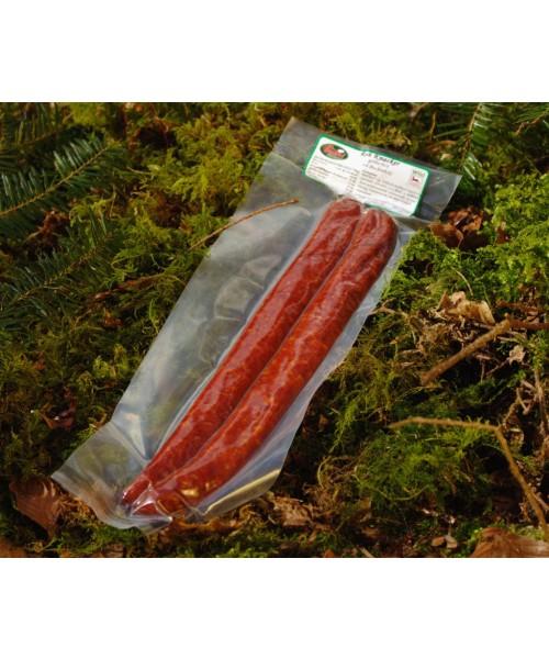 Rehknacker (Meterwurst) geräuchert mit Buchenholz Wild-Göbel