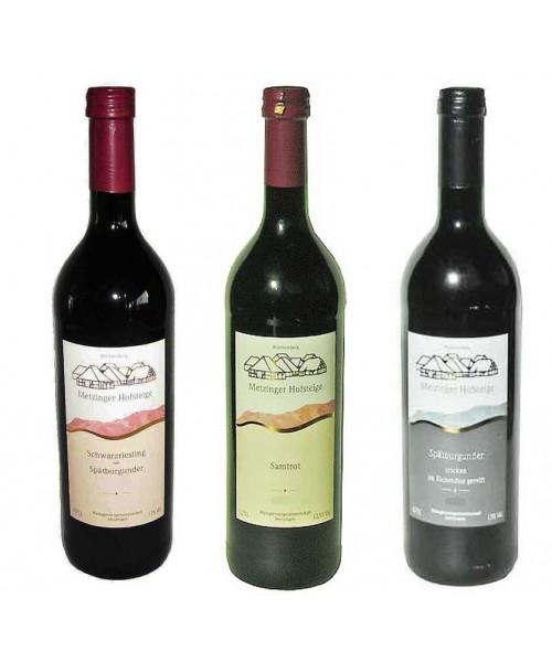 Unsere Roten Probierpaket 6 Flaschen