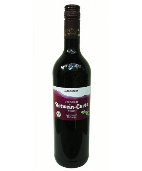 Rotwein-Cuvée BIO Albgemacht 2018 Metzinger Wein