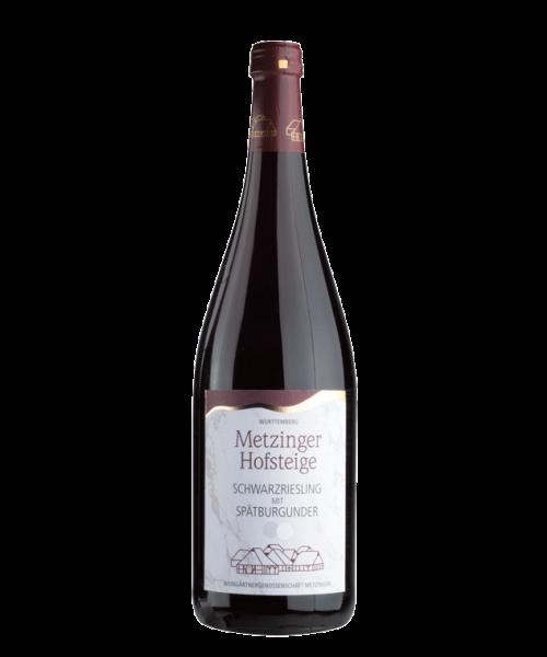 2018 Schwarzriesling mit Spätburgunder 1l Metzinger Wein