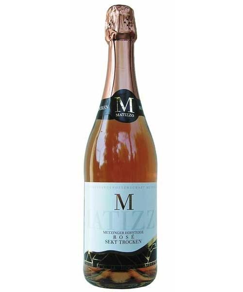 Matizzo-Sekt Rosé trocken 0.75ltr Metzinger Wein