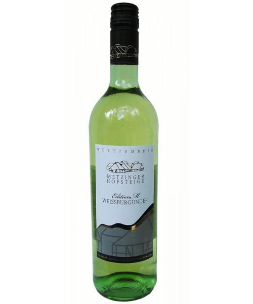 2018 Weissburgunder  trocken Metzinger Wein