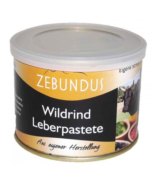Wildrind Leberpastete 200g (Mutschler)