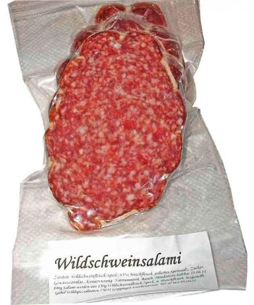 Wildschwein Salami naturgereift 100g (Göbel)