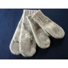 Fäustlinge aus 100% Alpiner Steinschafwolle gewalkt (Arche-Hof)