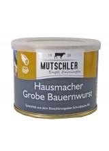 Grobe Bauernwurst 200g (Mutschler)