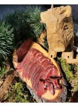 Rauchfleisch von der Wildschweinkeule in Scheiben, ca. 100g