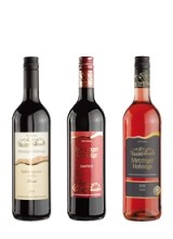 Rotwein-Probierpaket 6 Flaschen für 43,90€  (pro Flasche 7,32€)