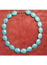 Edelstein Halskette aus Türkis