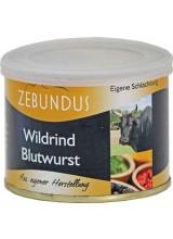Wildrind Blutwurst, 200g Dose (Mutschler)