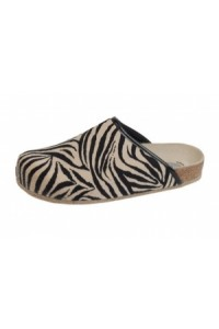 Weeger Hausschuh Art. 48013-99 Zebra